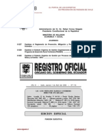 Reglamento PrevencionIncendios Ecuador