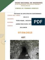 Diccionario de Términos Mineros Presentación