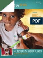ADRA Direkt 1/2015 - Hunger im Überfluss