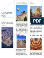 Brochure the Most Touristic Attractions in Cartagena de Indias