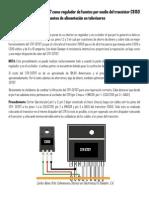 Cómo Reparar El STR-S6707 Como Regulador de Fuentes en Televisores Por Medio Del Transistor C6150
