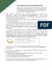 Apunte 1° Prueba Derecho Administrativo II.