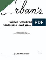 Arbans 12 Variaciones Trompeta y Piano