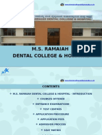 M.S. Ramaiah Dental College