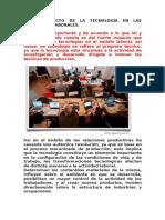 11. EL IMPACTO DE LA TECNOLOGÌA EN LAS RELACIONES LABORALES