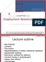 Employment relations in India