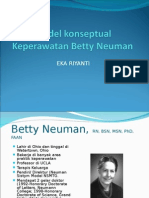 teori Keperawatan Betty Newman
