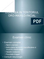 Durerea in Teritoriul Oro-maxilo-facial-stagiul 6