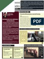 SOCIEDADES - Marzo -Abril 2015