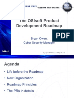 OSIsoft Product Road Map_Bryan Owen