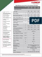 Polycrystalline PV Modules