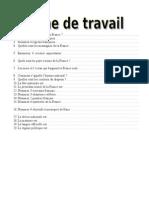 Fisa de Lucru - La France