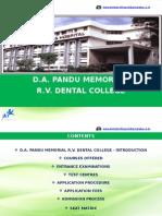 R.V. Dental College