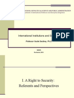 IIS - Security and Diplomacy - 1