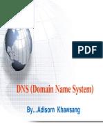DNS_FC3DNS (Domain Name System) By…Adisorn Khawsang
