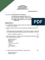 2015- Computer Sample Paper
