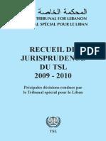 2009-2010 Recueil de jurisprudence