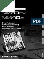 Yamaha mw8cx 8 ch mixer