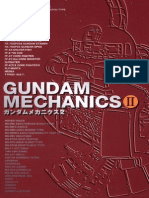 Artbook - Gundam Mechanics II