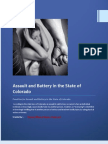 Penalties for Assault and Battery in the State of Colorado