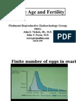 Age and Fertility Handout Preg 3