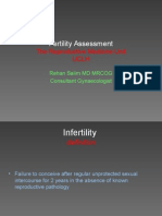 Fertility Assessment