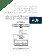 Windows Programming Model