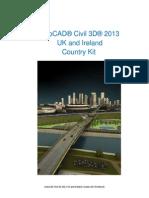 AuroCad Civil 3D UK & Ireland Country Kit