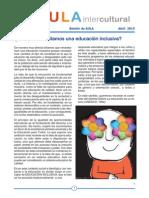 Boletín de Aula Intercultural - Abril 2015