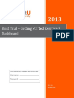 Birst Trial - Getting Started Exercise 3 Dashboard