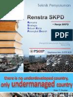 Tenik Penyusunan Khusus RENSTRA SKPD