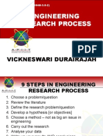 Engineering Research Process