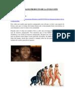 El ser humano producto de la evolución