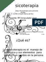 Musicoterapia para educación de adultos