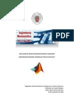 Simulación de ondas con diferencias finitas (Matlab)Tr