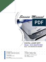 Manual Reparatie SCX-48xx