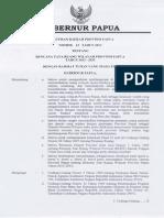 Perda Provinsi Papua No. 23 Tahun 2013