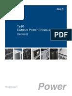 TE20 Manual