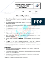 2011 MASMO Contest Paper - Secondary