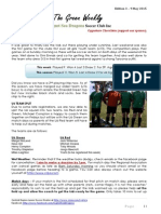 Cygnet Sea Dragons Junior Soccer Club - Edition 3 9th May 2015