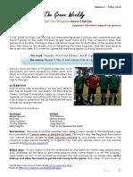 Cygnet Sea Dragons Junior Soccer Club - Edition 3 9th May 2015