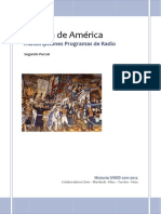 Programas Radio Historia América Comtemporánea