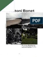 Antonio Bonet en Punta ballena Uruguay