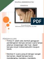 Diagnosis Banding Telinga Berdengung