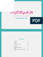Digitalgurus Salary Survey 2015