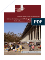 Urban Governance in Post Apartheid Cities