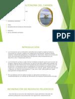 INCINERACION DE RESIDUOS PELIGROSOS