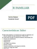 TALLER FAMILIAR Sesion Comunicación