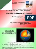 Energia Geotermala
