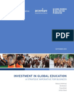 Investment in Global Education Sept2013